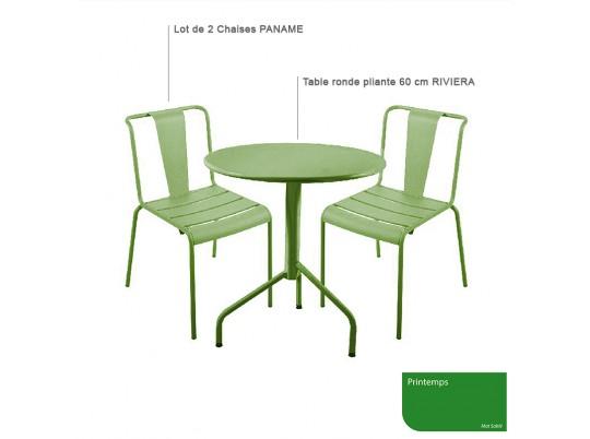 chaise SHADOW - acier satine
