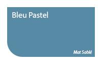 Bleu pastel / Mat Sablé